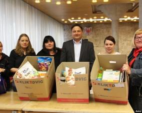 Pomagali smo slovenskim otrokom